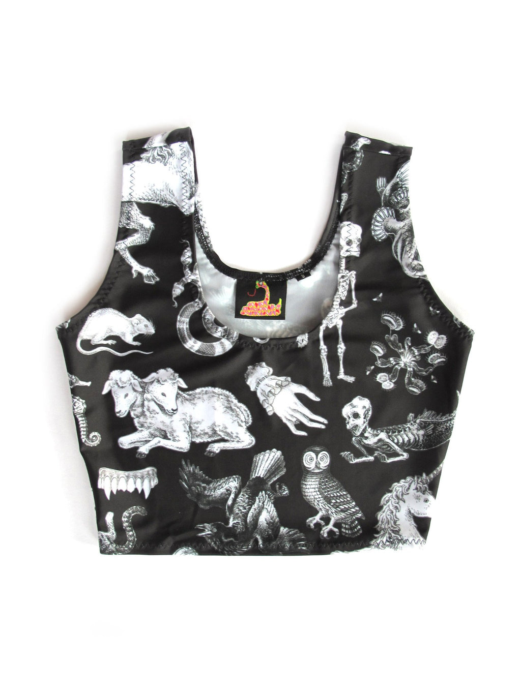 Pretty Snake Freak Of Nature Crop Top