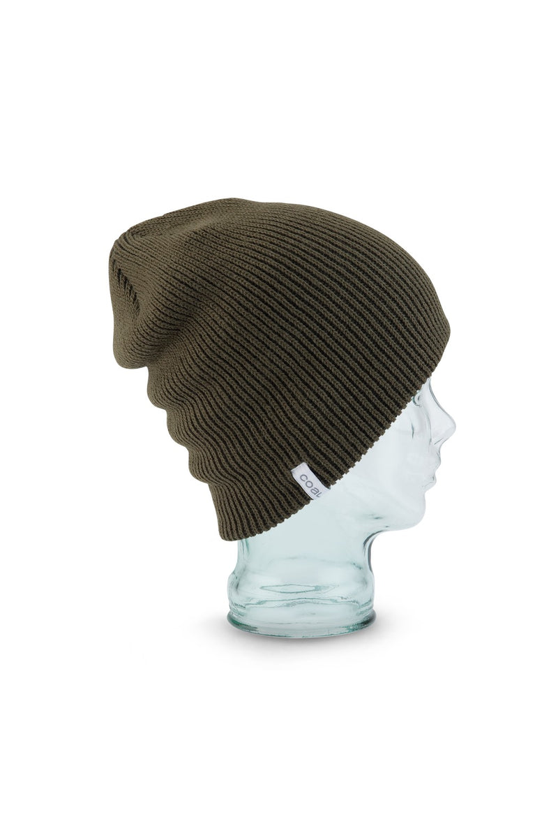 Coal Frena Solid Beanie in Olive