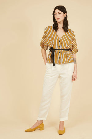 FRNCH Cilem Top in Yellow