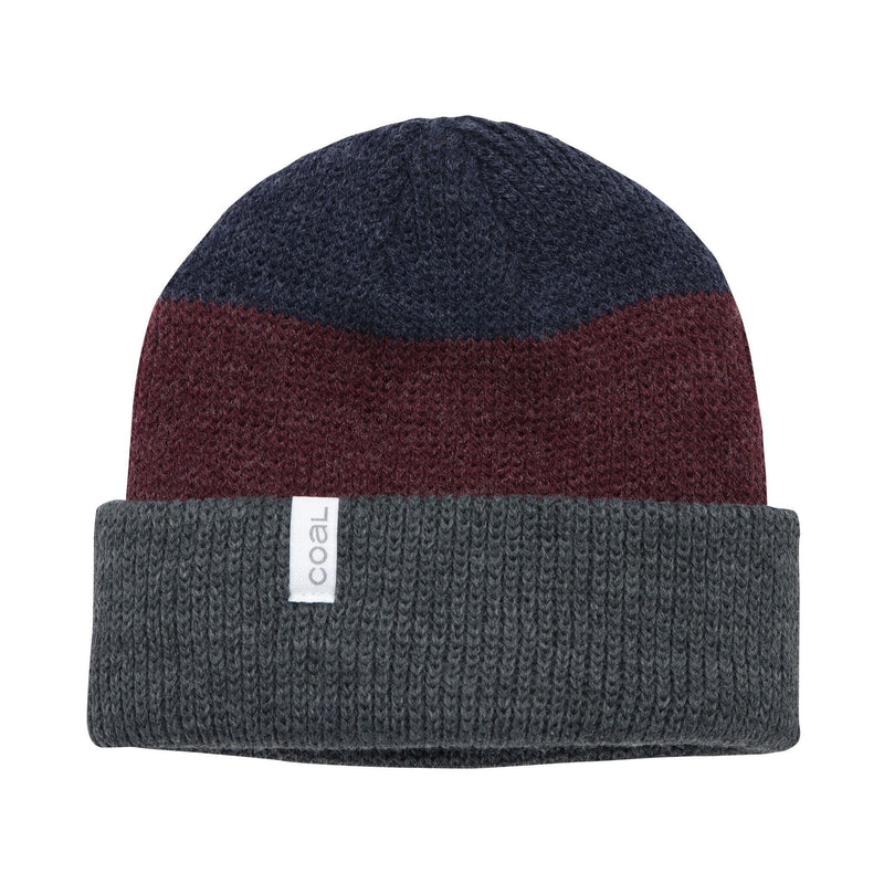 Coal Frena Beanie - Charcoal Stripe