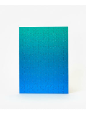 Bruce Wilner Small Gradient Puzzle Blue + Green