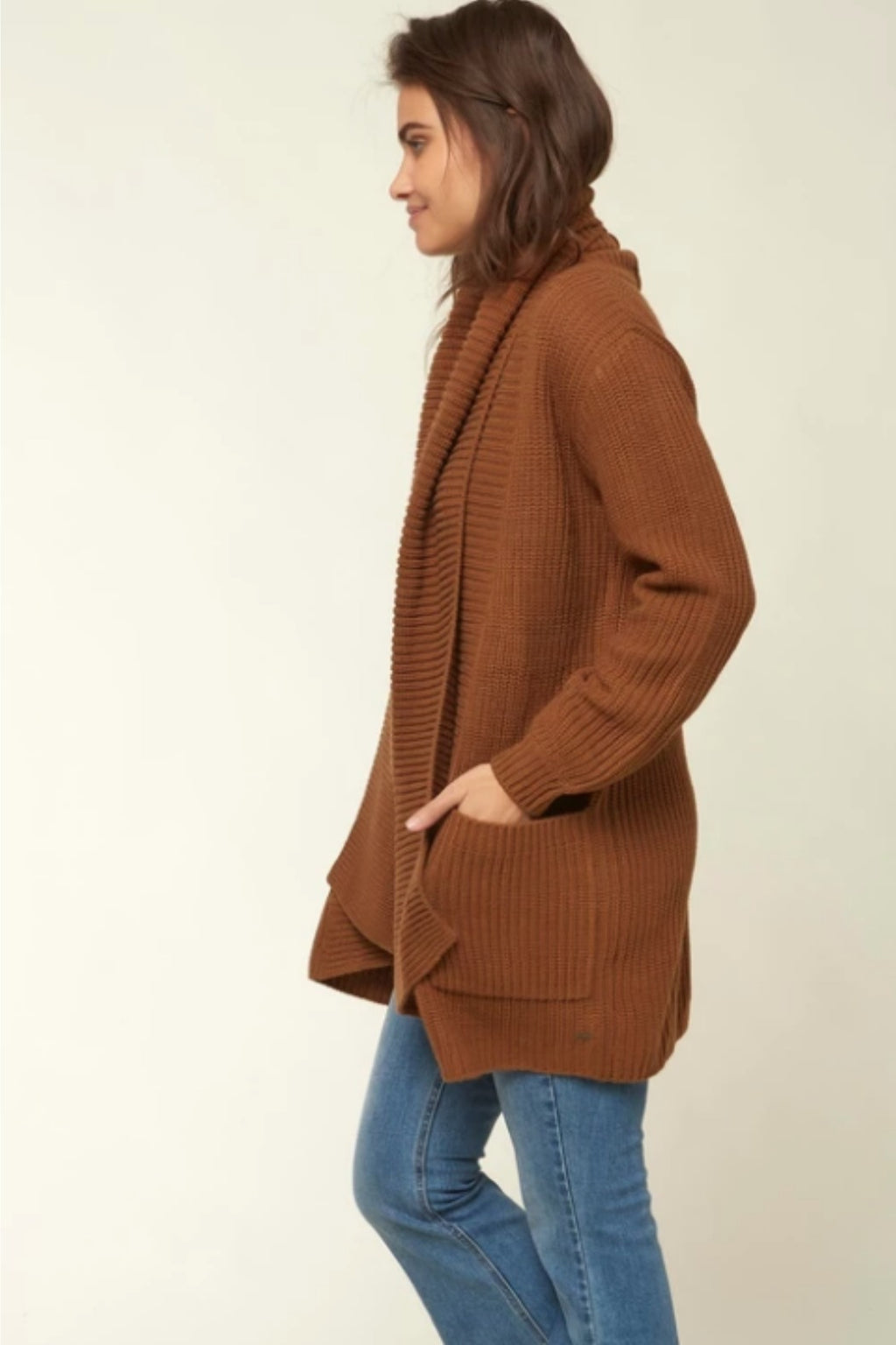 O'Neill Galley Sweater in Caramel