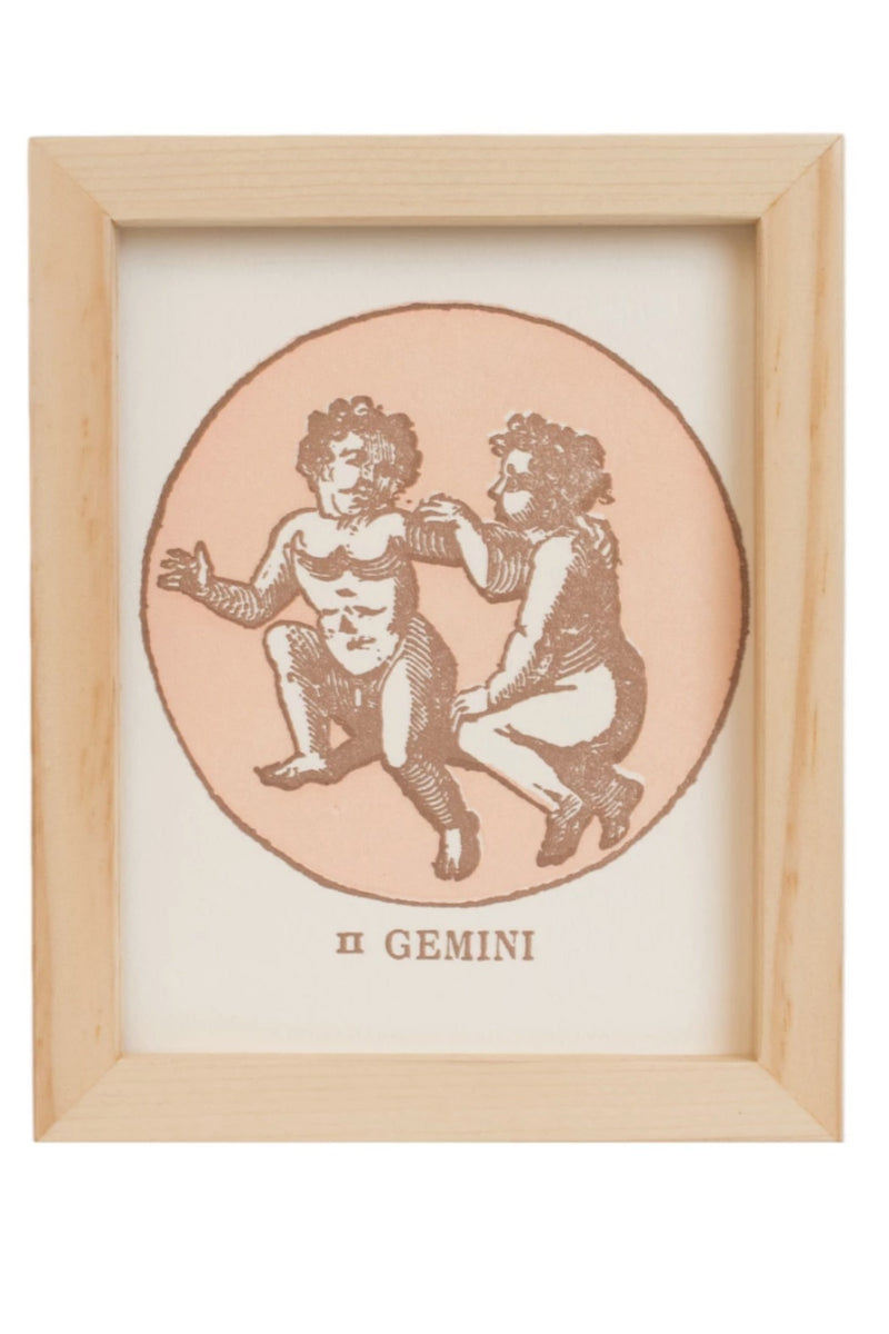 Margins Zodiac Card - Gemini