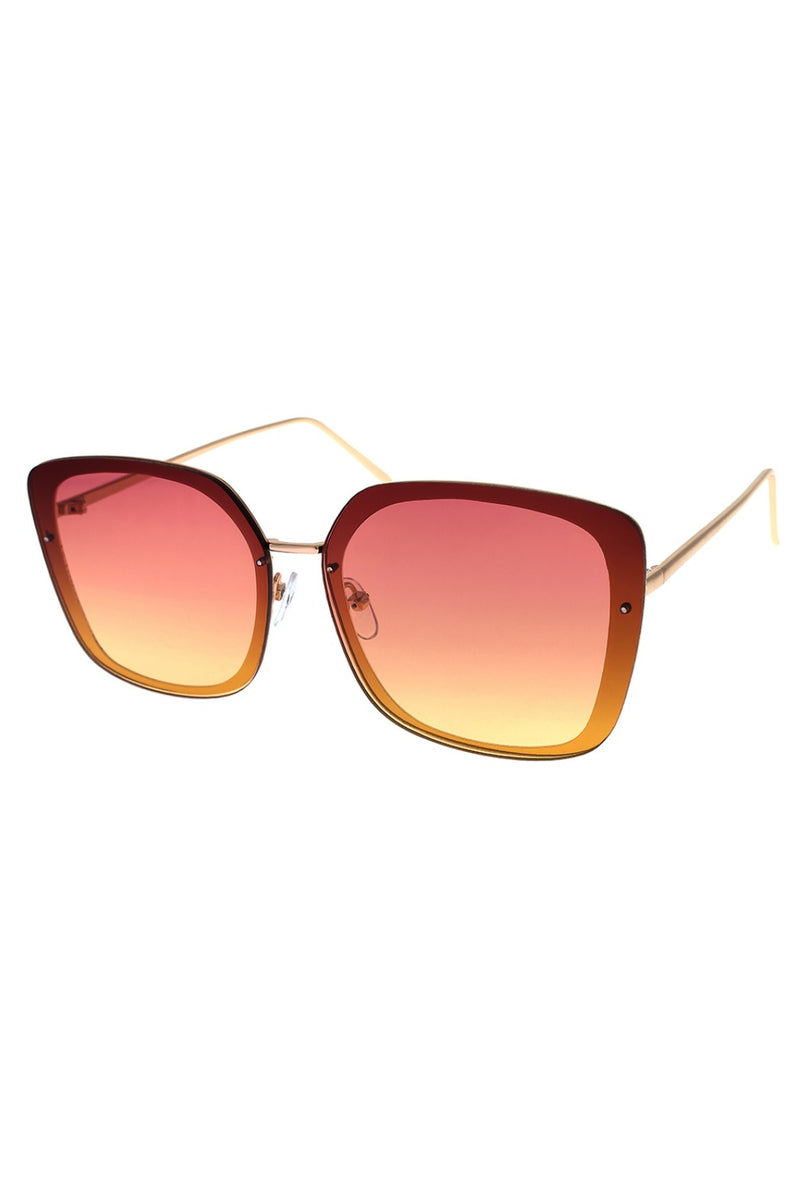 Glider Sunnies - Gold/Pink/Yellow