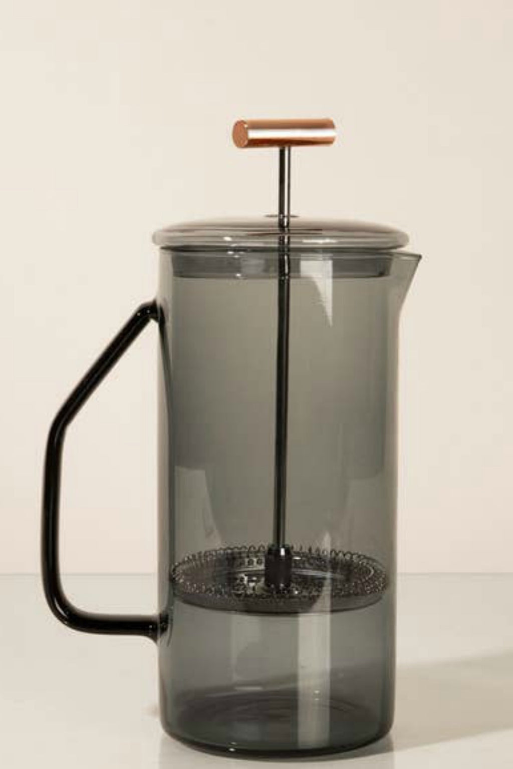 Yield 850ml Glass French Press - Gray