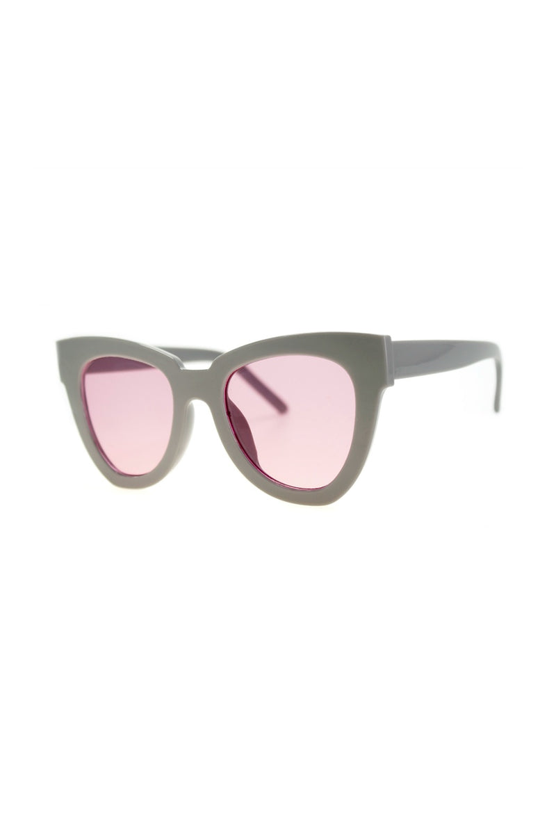 Not Standard Sunnies - Grey/Pink