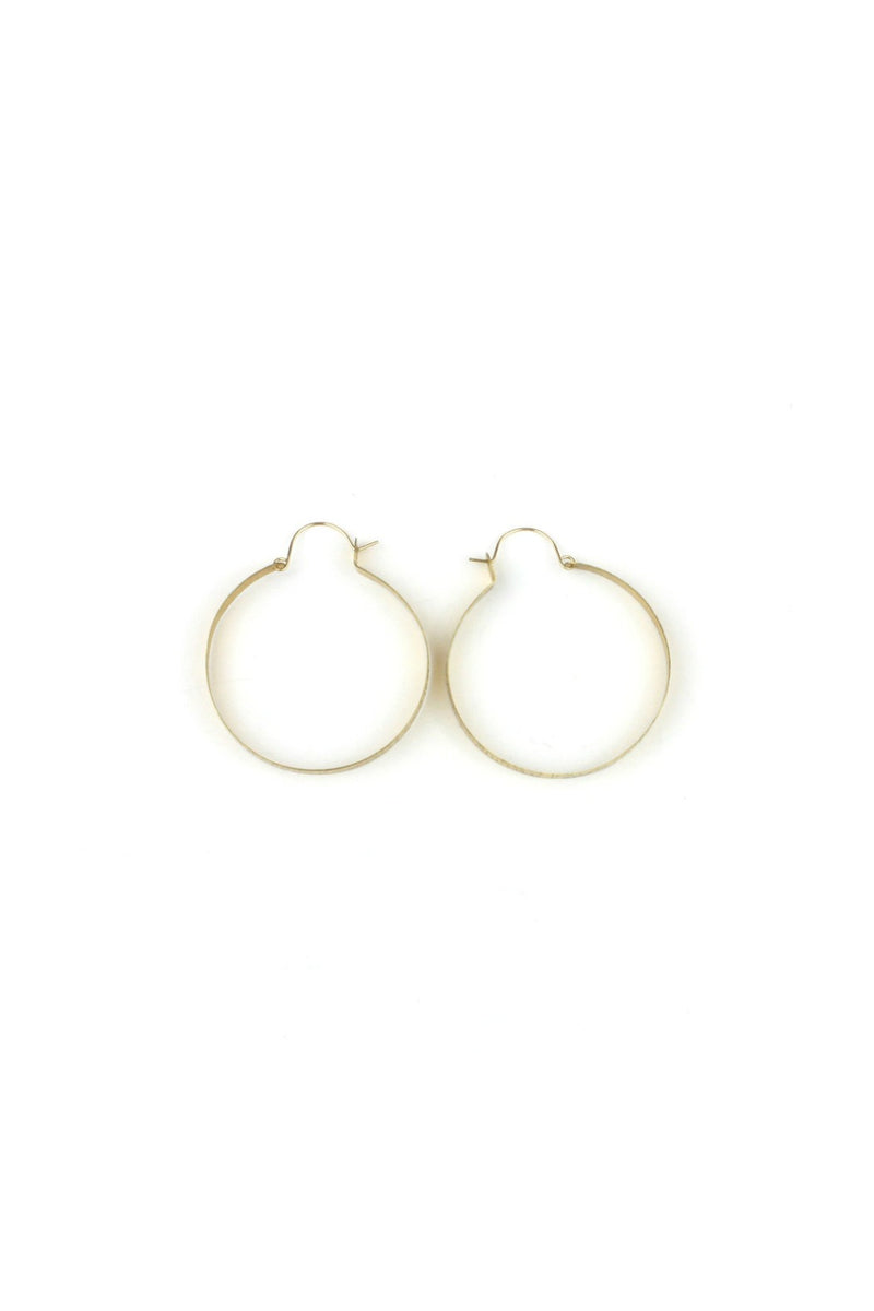 Old Blood Jewelry & Wears Teocalli Hammered Hoops