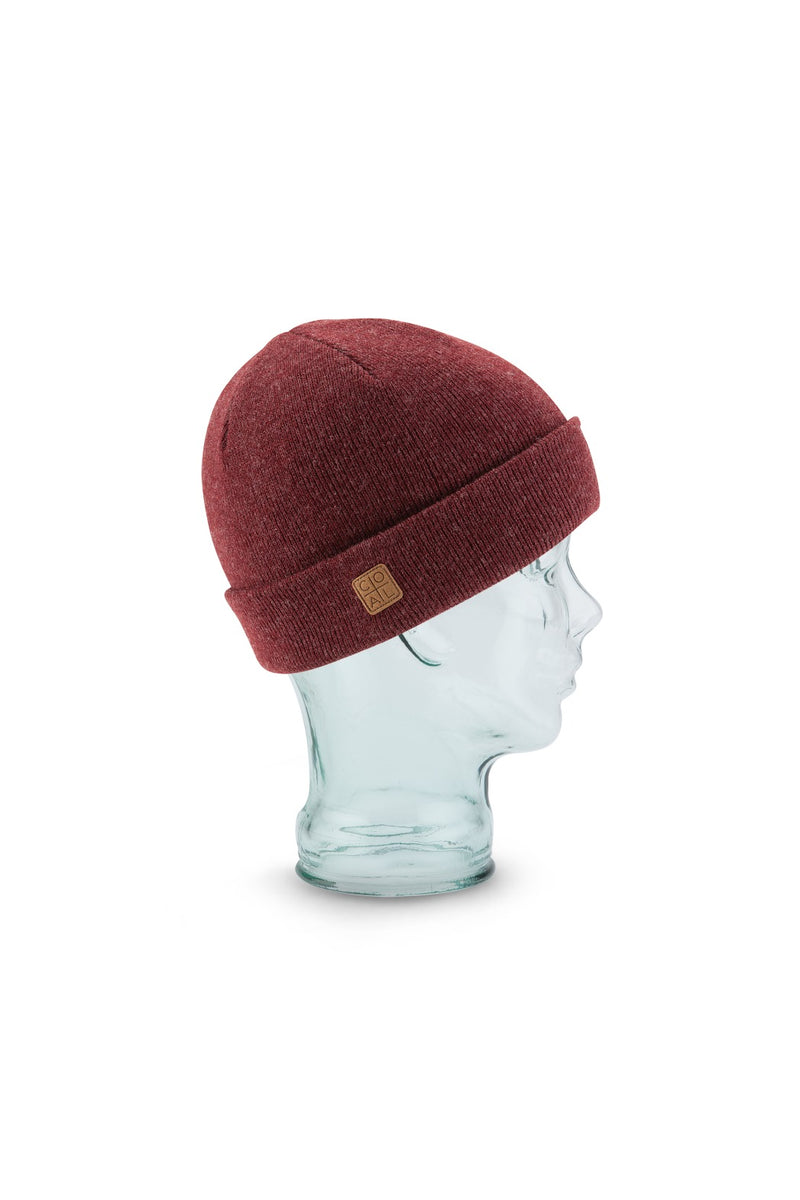 Coal Harbor Beanie in Heather Burgundy