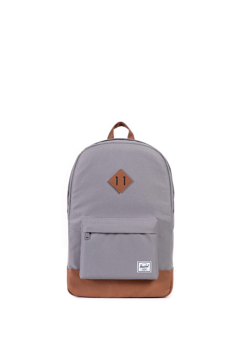 Herschel Supply Co. The Heritage Backpack in Grey/Tan