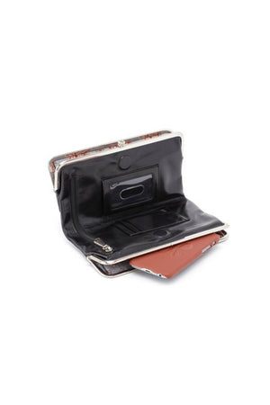 Hobo Lauren Wallet in Black