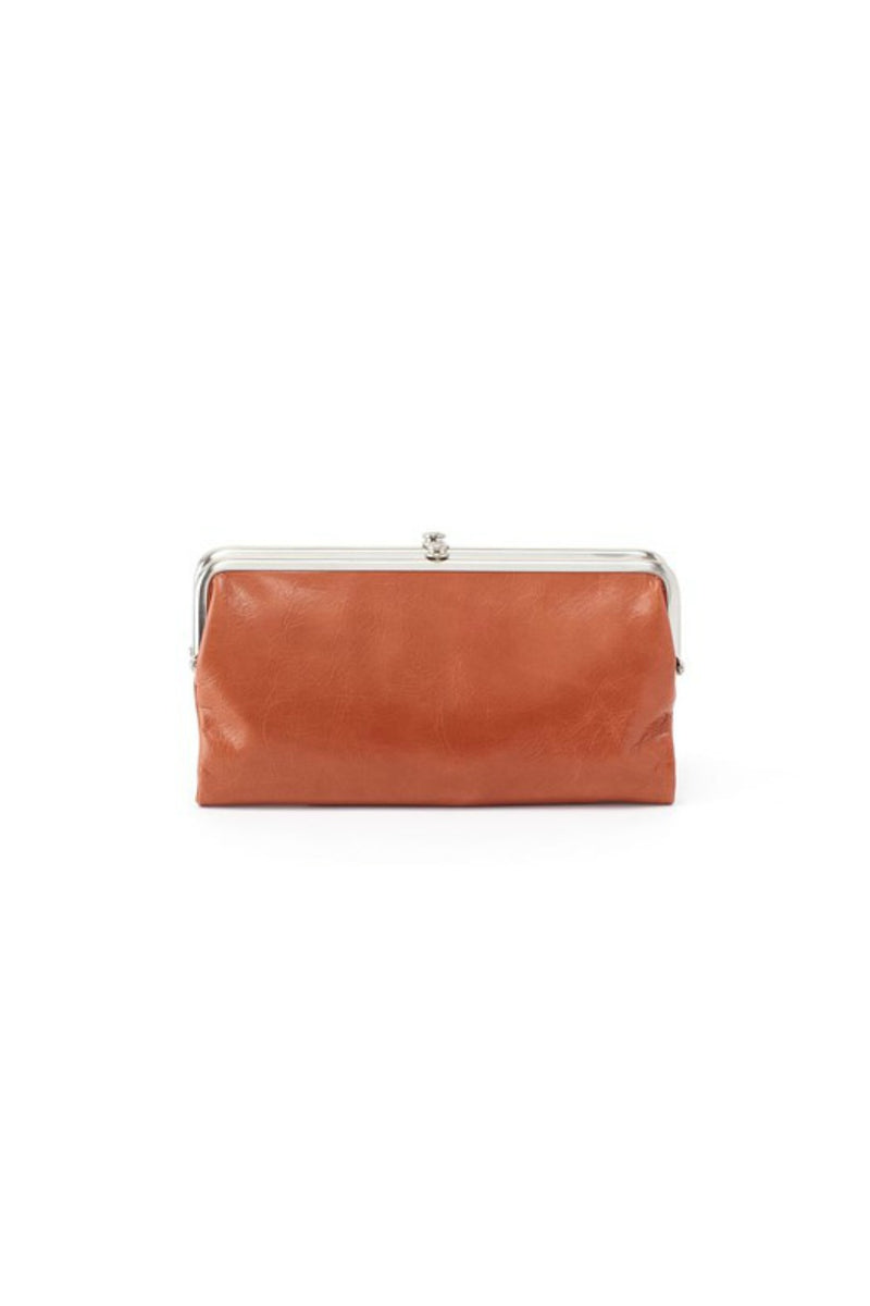 Hobo Lauren Wallet in Clay