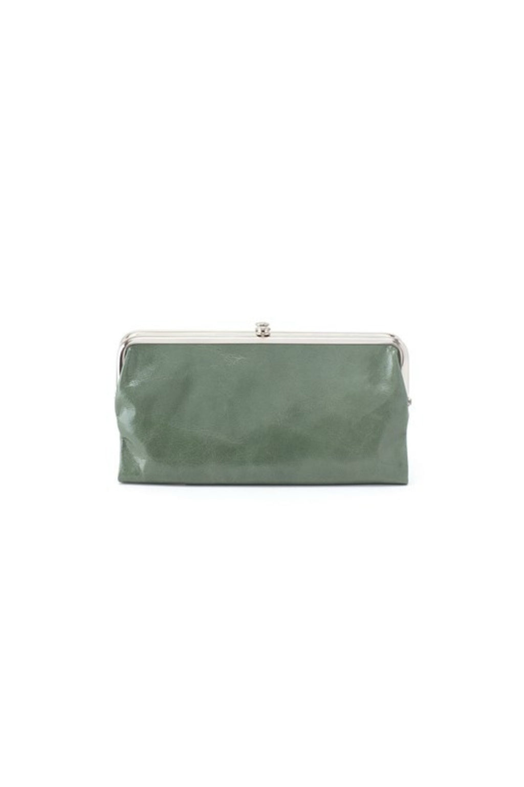 Hobo Lauren Wallet in Moss