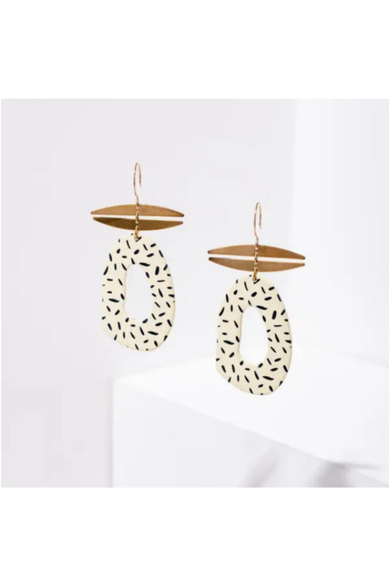 Larissa Loden Idelle Earrings - Dots