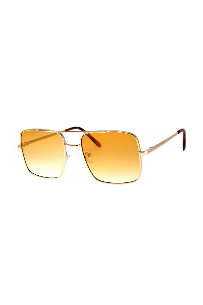 Issue Sunnies - Gold/Amber