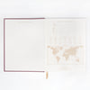 "Designworks Ink Linear Cloth Journal Geo ""Thoughts"""