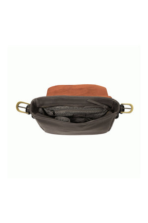 The Jane Purse - Charcoal/Black