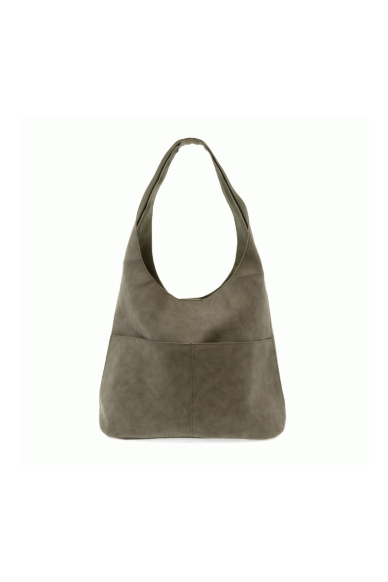 Jenny Sueded Hobo Handbag- Sage
