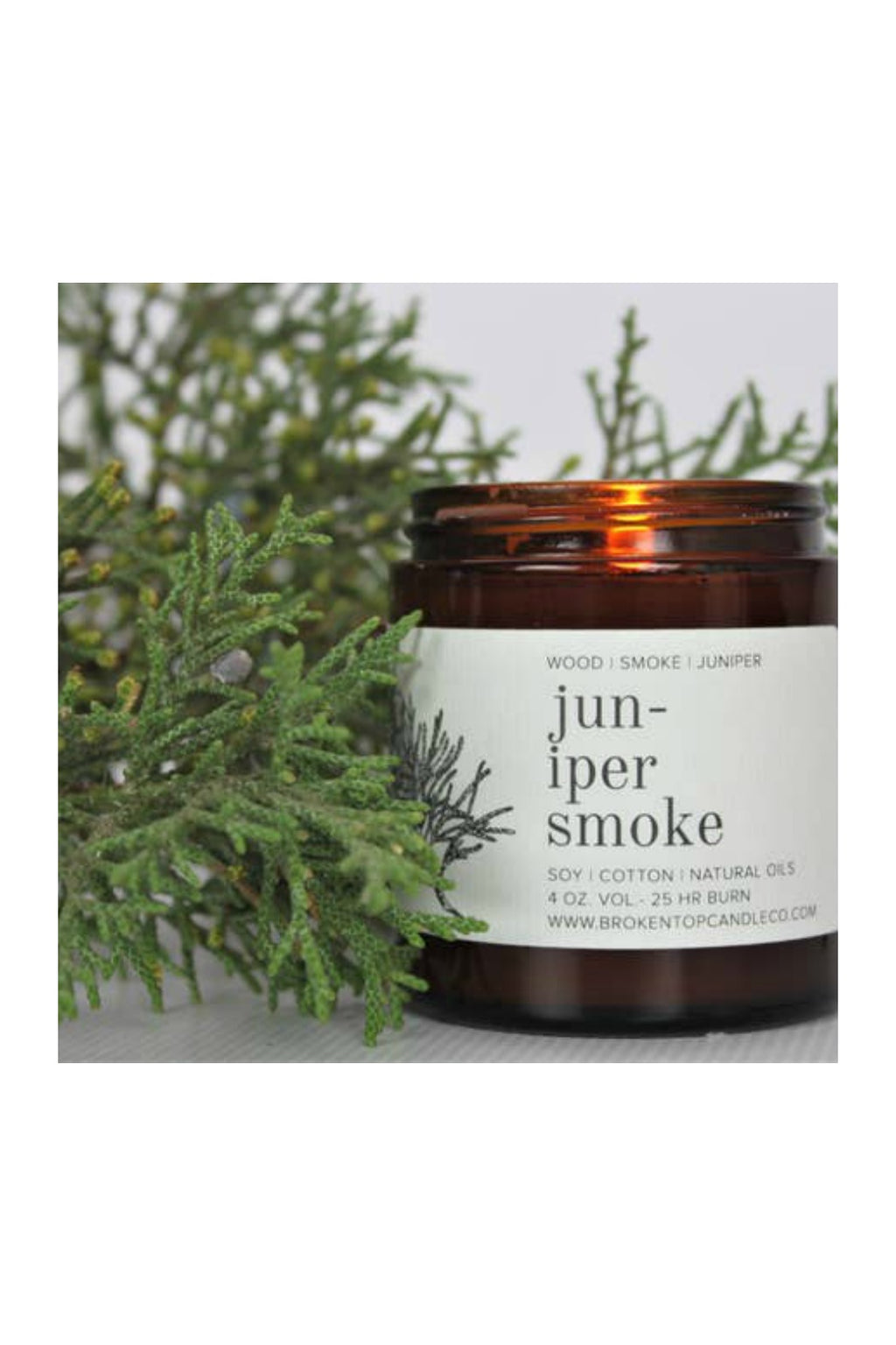 Broken Top Candle Co. 4 oz. Soy Candle - Juniper Smoke
