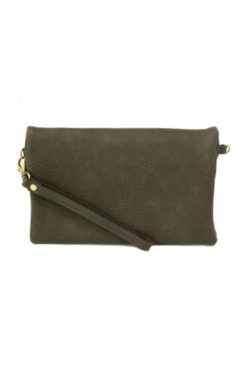 Joy Susan Kate Crossbody Clutch - Olive