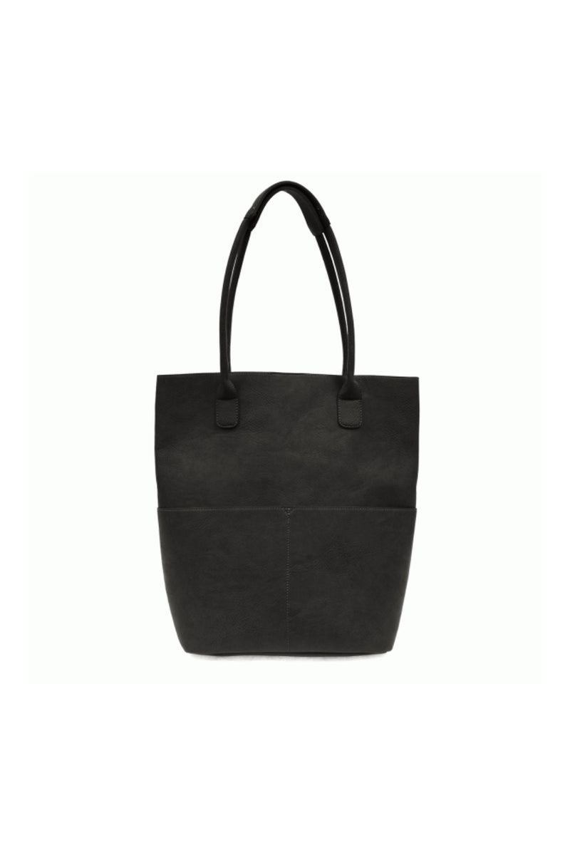 Joy Susan Kelly Front Pocket Tote - Black