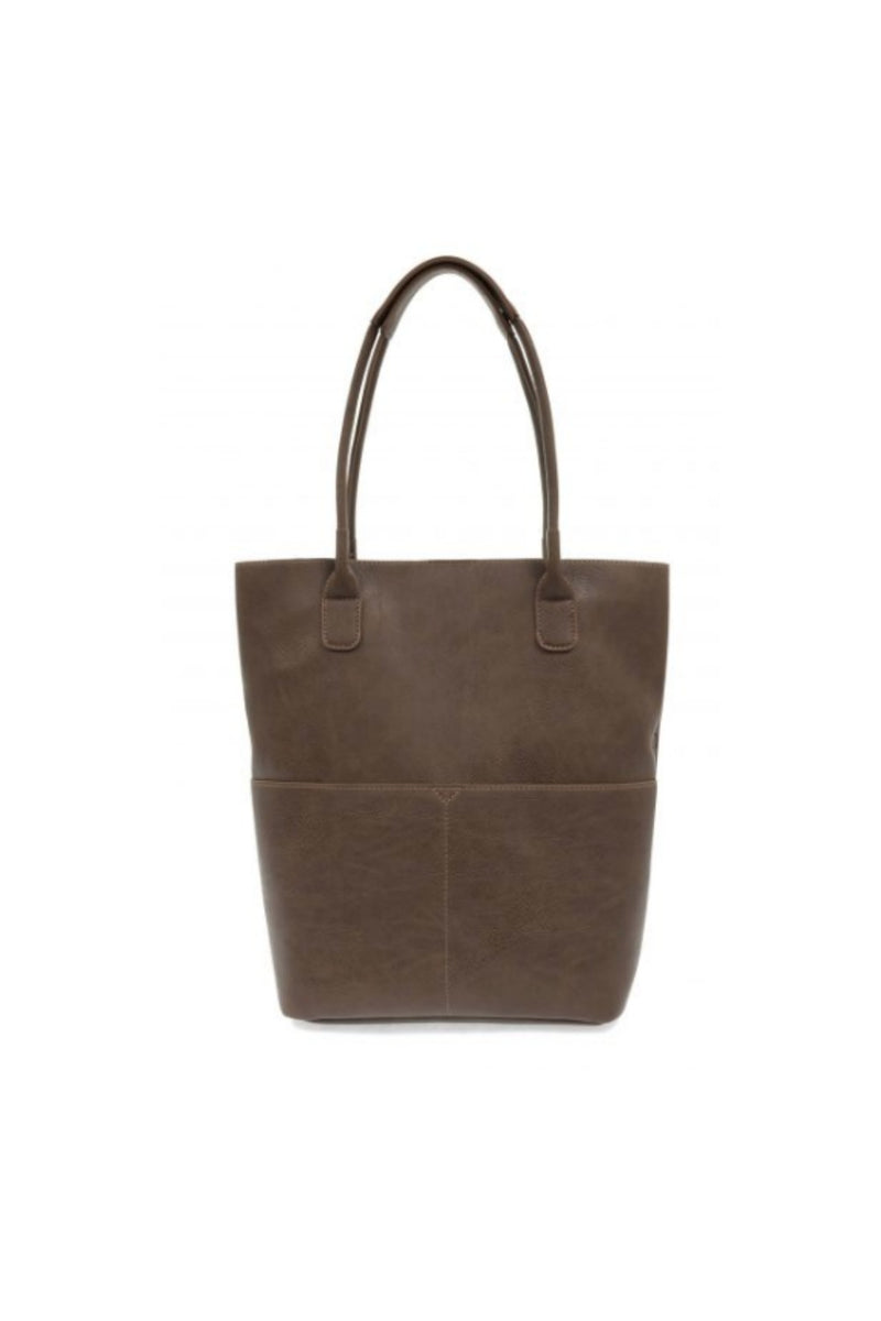 Joy Susan Kelly Front Pocket Tote - Chocolate