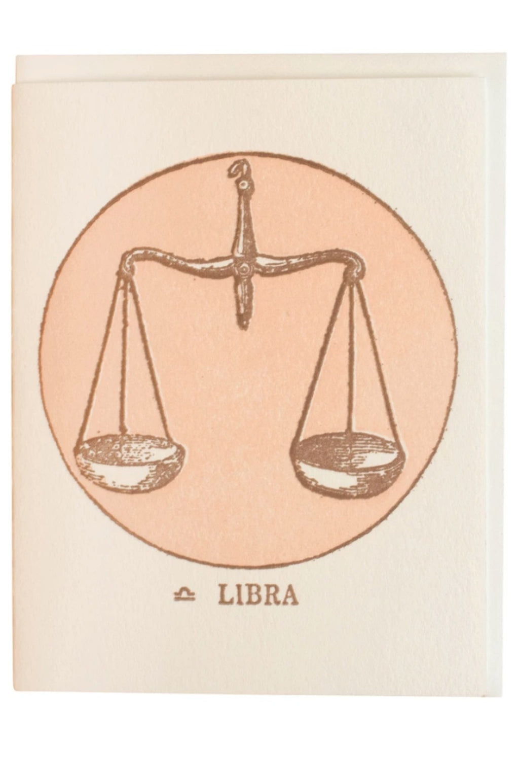 Margins Zodiac Card - Libra