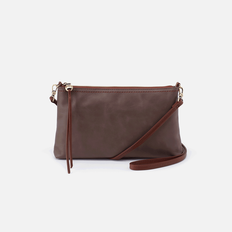 Honey Darcy Convertible Clutch - Flint