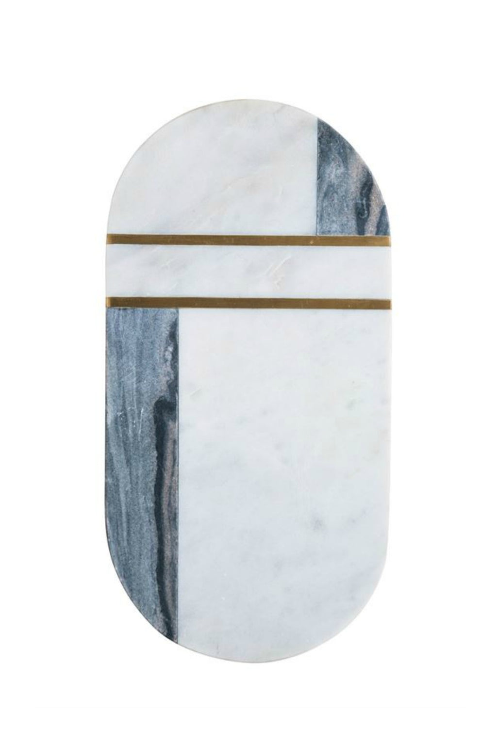 Bloomingville Marble & Brass Cutting Board