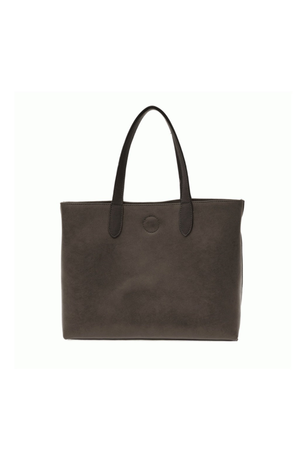 Mariah Convertible Tote - Charcoal/Black