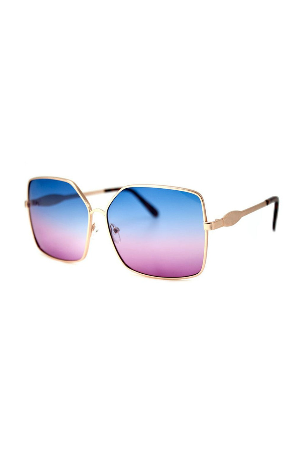 Mass Sunnies - Gold/Blue/Pink