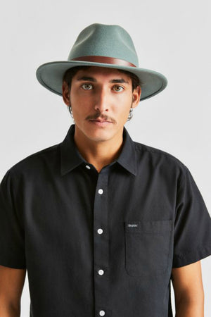 Brixton Messer Fedora- Cypress/Brown