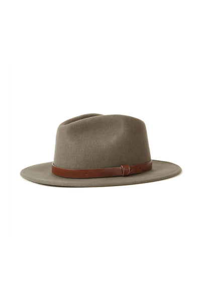 Brixton Messer Fedora in Ivy
