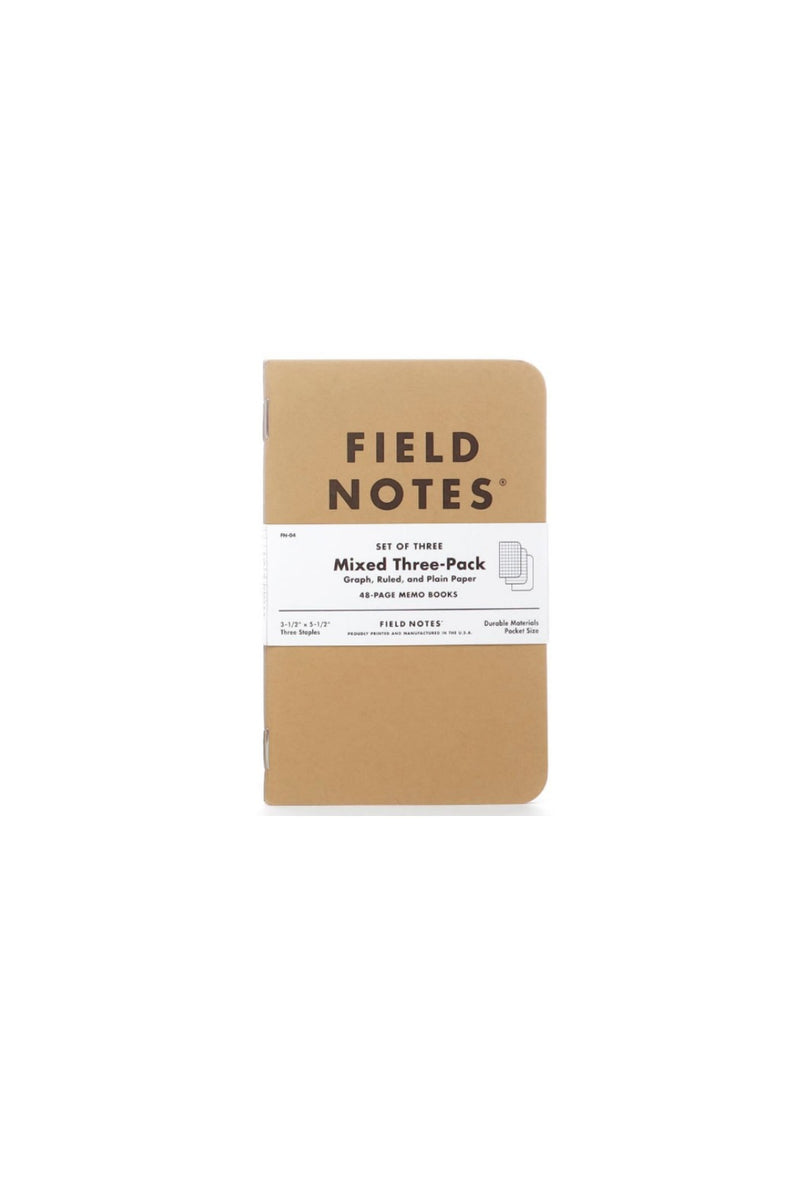 Field Notes Original Craft - 3 Pack