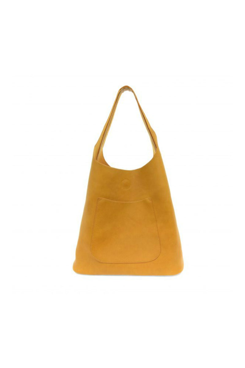 Joy Susan Molly Slouchy Hobo Bag - Amber