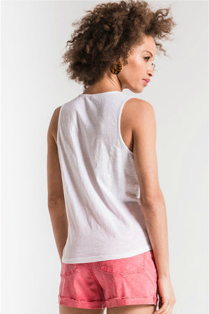 Z Supply The Muse Wrap Tank in White