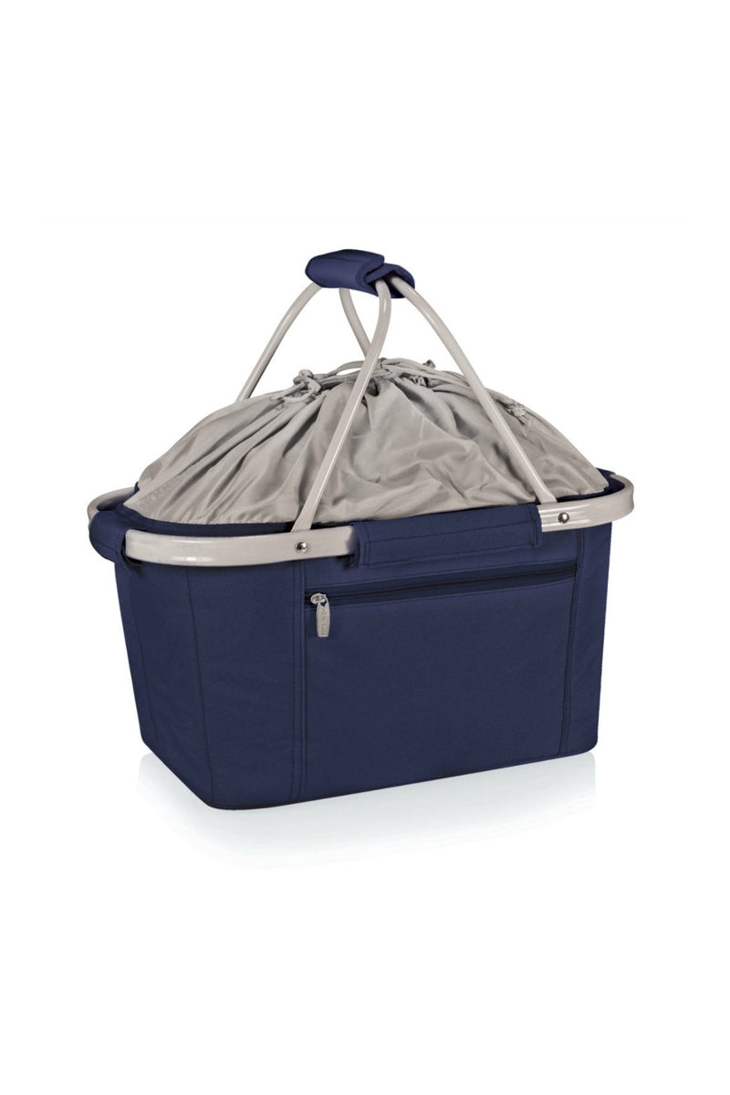 Picnic Time Metro Basket Collapsible Cooler Tote - Navy