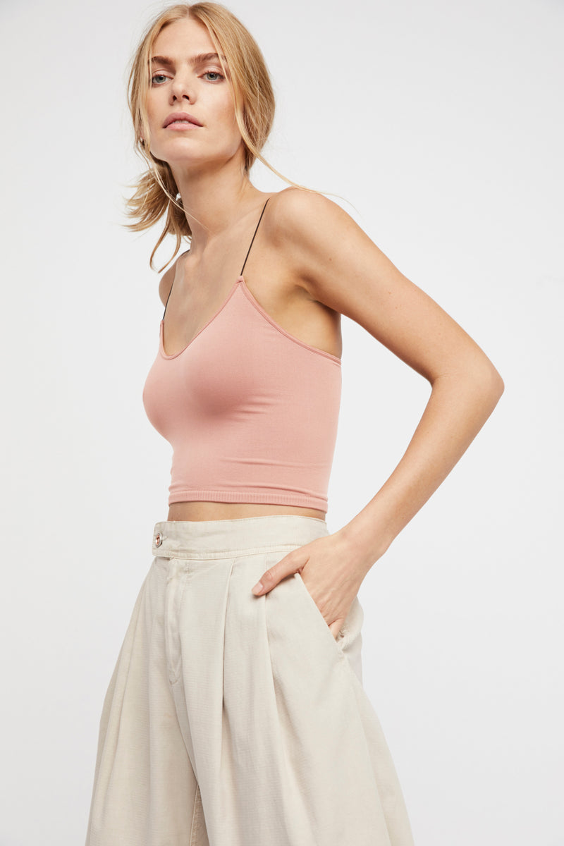 Free People Skinny Strap Brami - Crushed