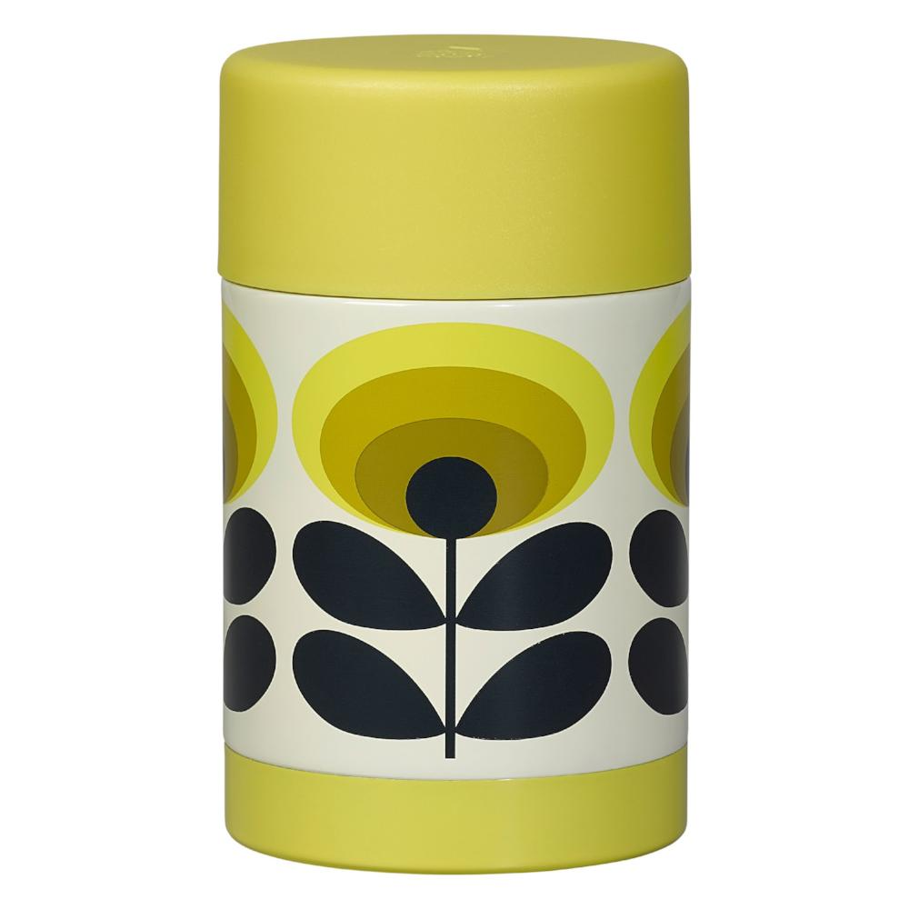 Orla Kiely 70's Enamel Food Flask