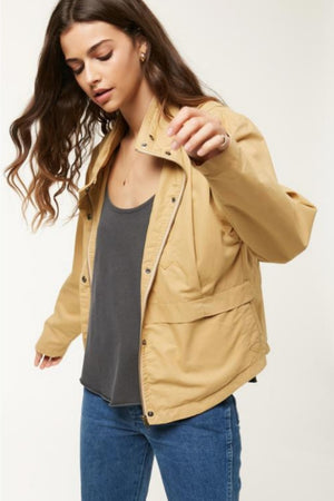 O'Neill Voyage Jacket in Sand