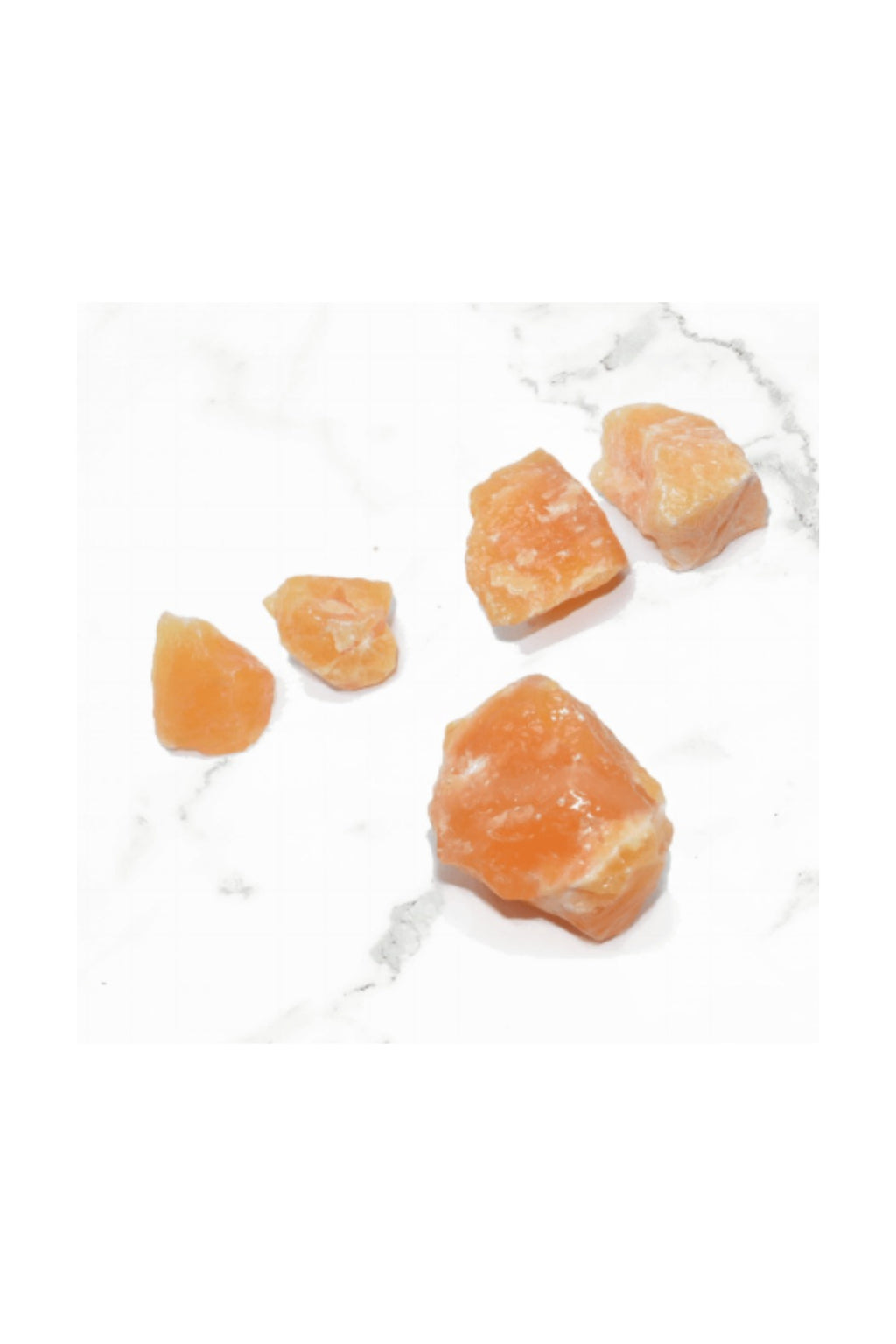 Orange Calcite Chunks