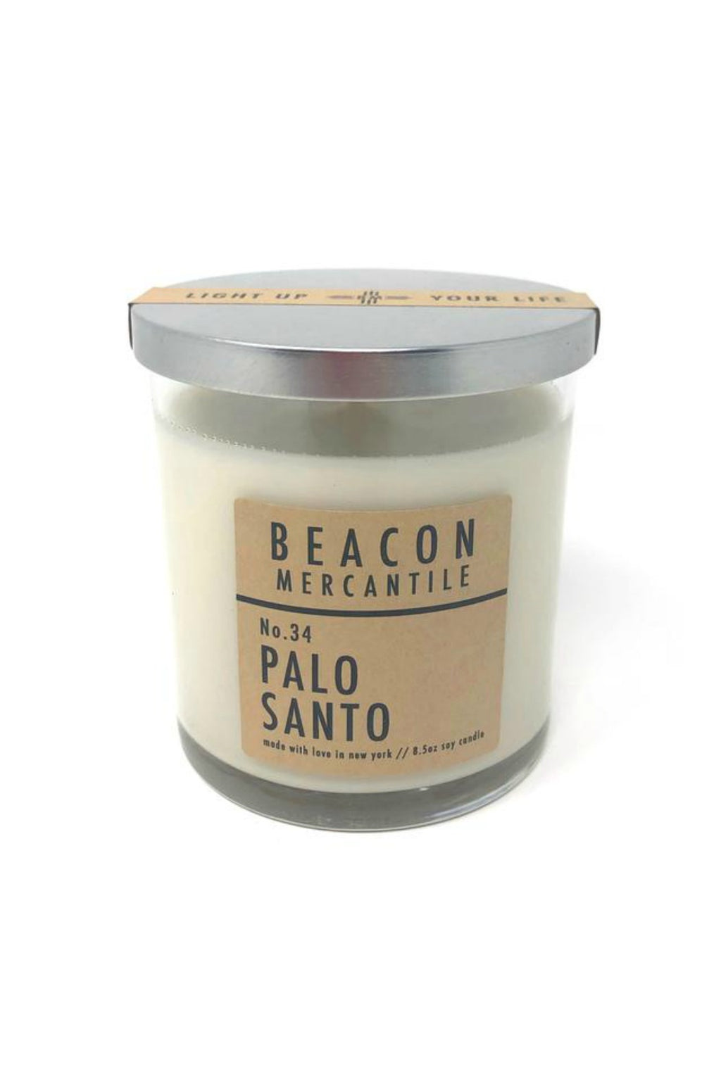 Beacon Mercantile 8.5 oz. Soy Candle - Palo Santo