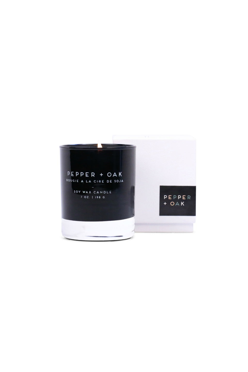 Paddywax Statement Collection Candle in Pepper & Oak