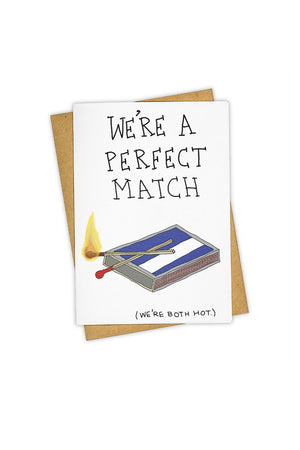 TAY HAM Greeting Card- Perfect Match