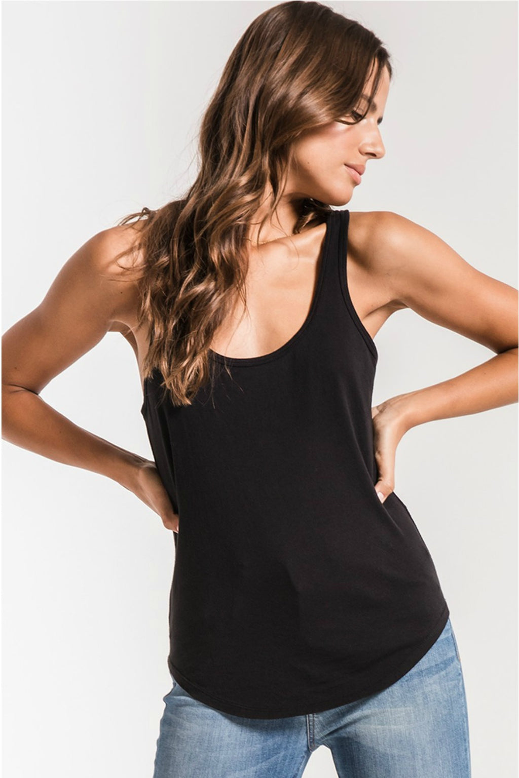 Z Supply Perfect Tank in Black