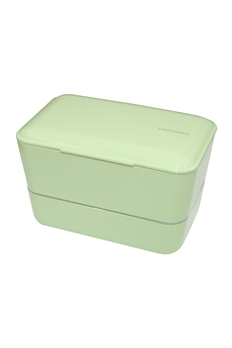 Takenaka Double Expanded Bento Box in Pistachio Green