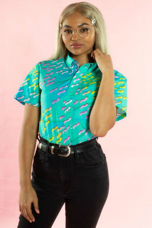 Pretty Snake Squiggle Shirt
