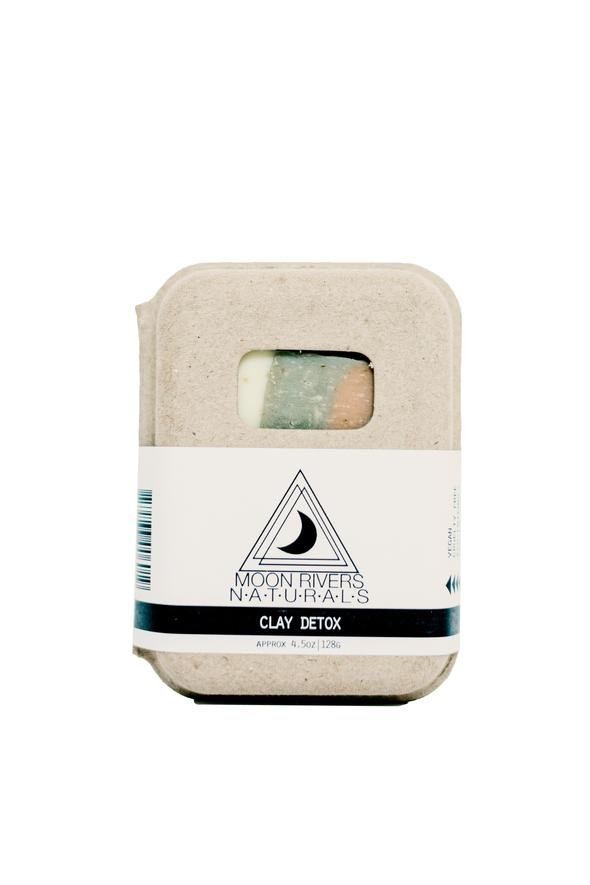 Moon Rivers Naturals Facial Bar - Clay Detox