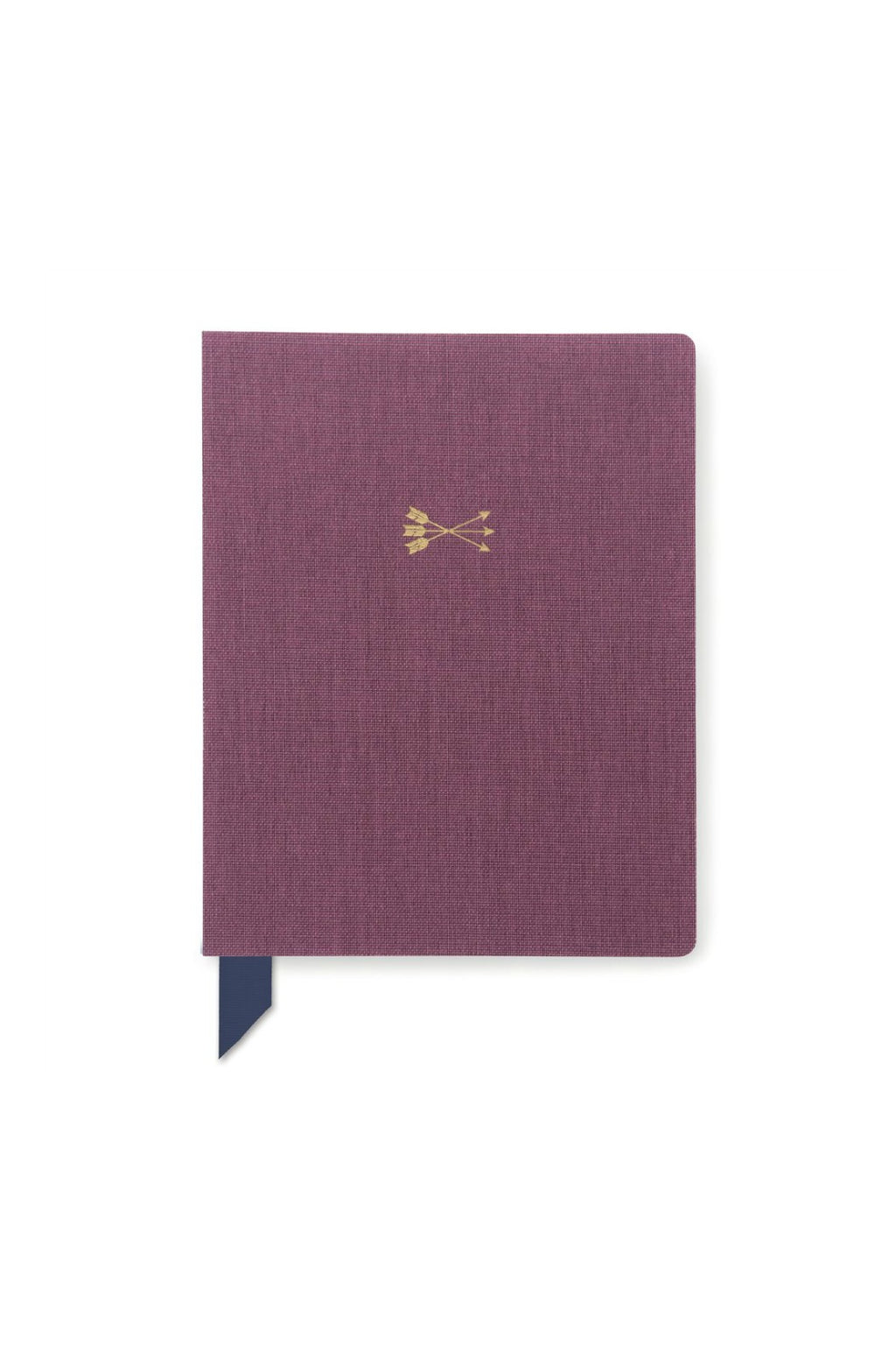 Designworks Ink Exposed Spine Perpetual Planner - Purple Arrows