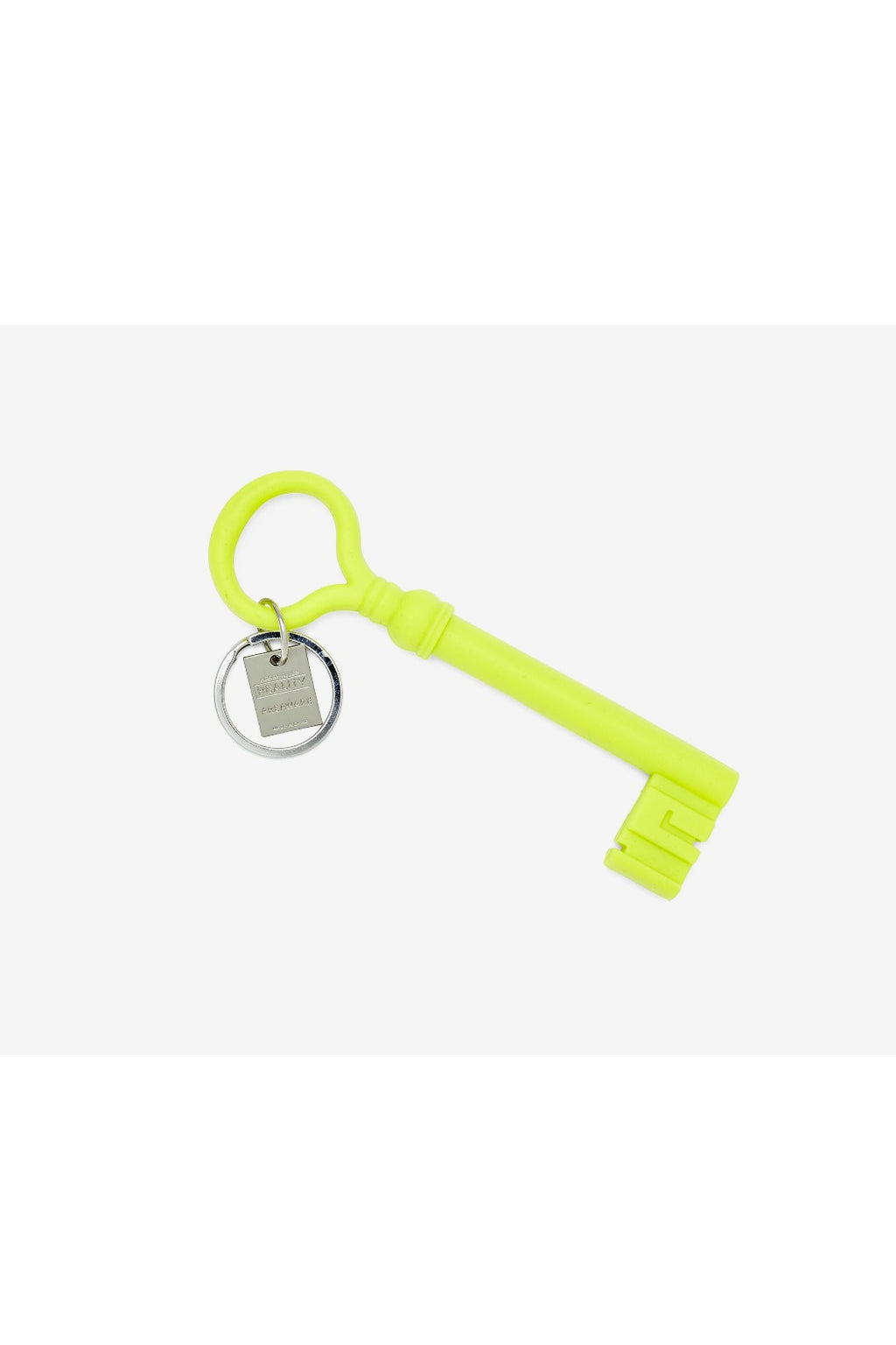Areaware Reality Keychain by Harry Allen - Chartreuse