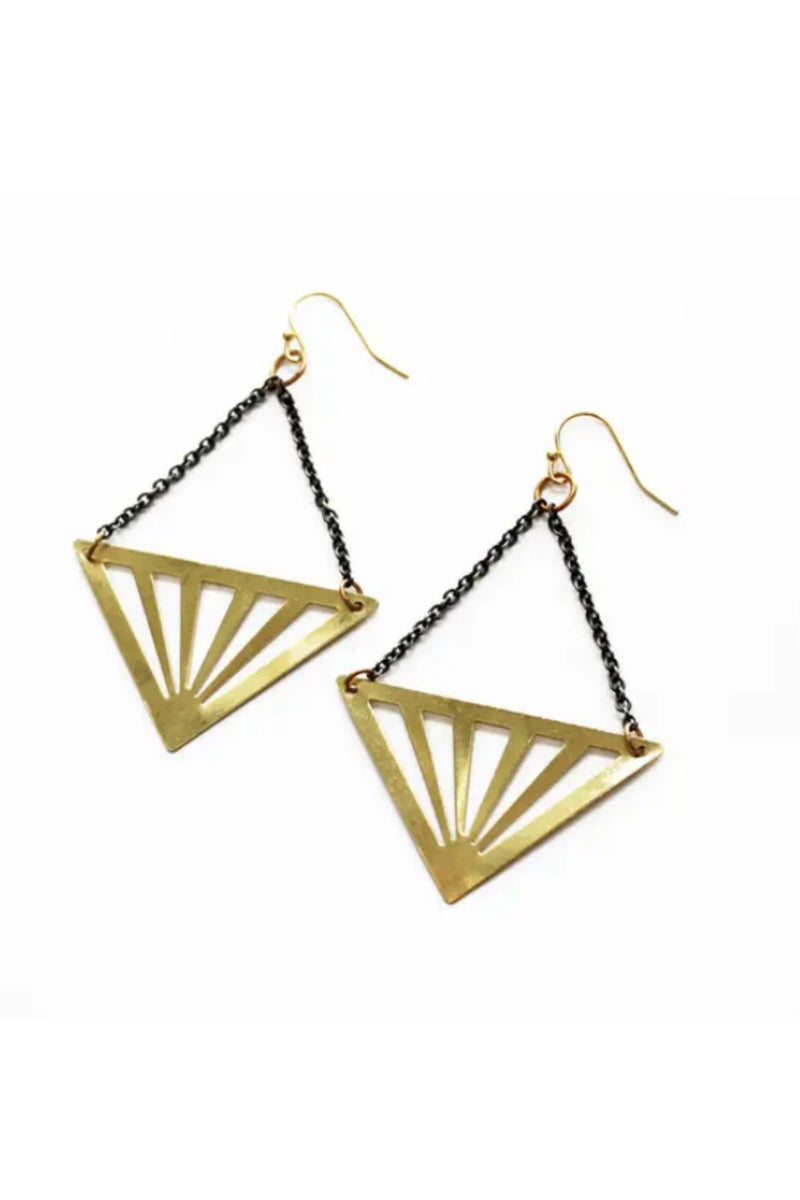 Larissa Loden Rays Earrings